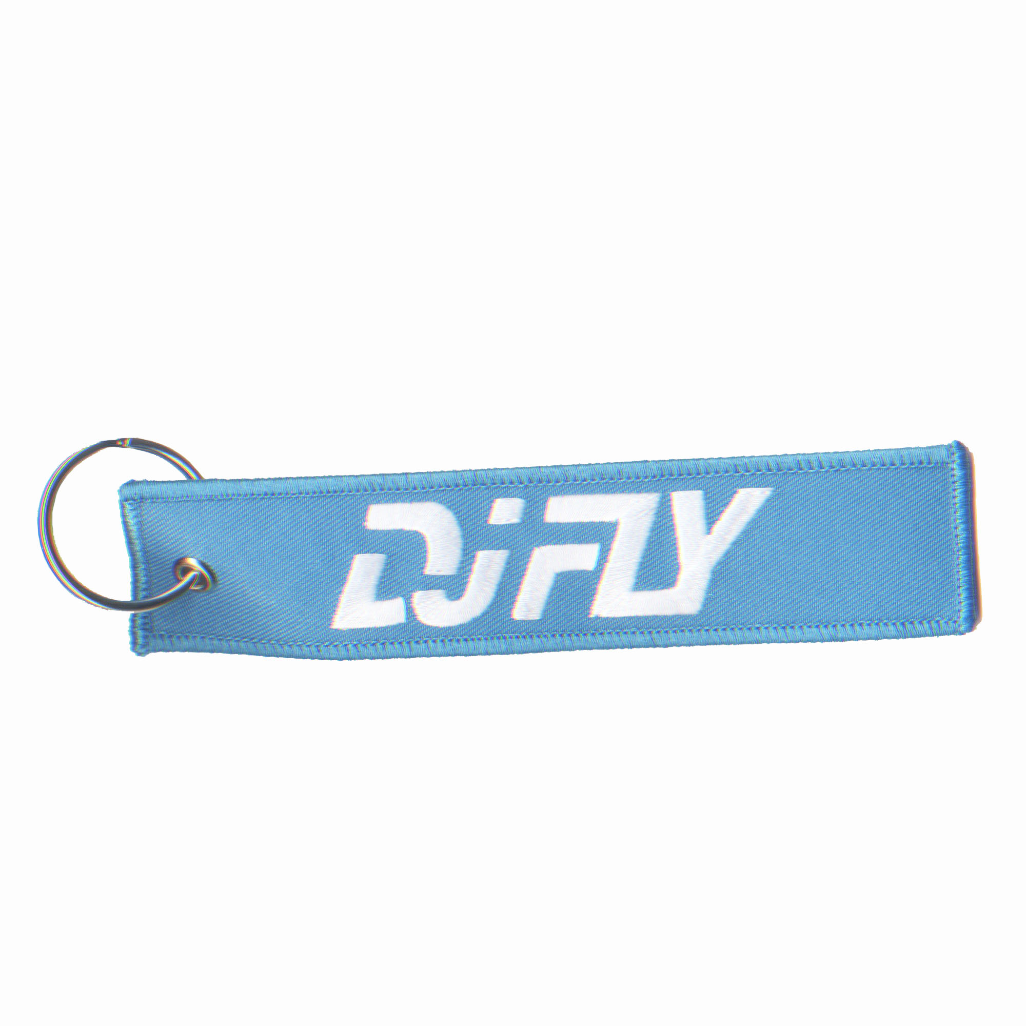 DJ-FLY-porte-clefs-bleu-recto